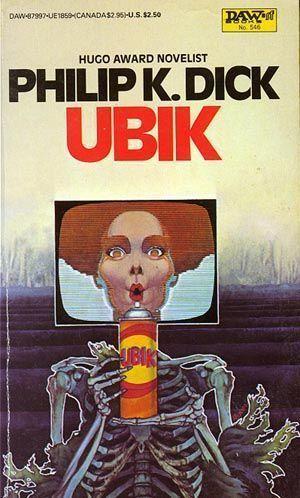 cubierta de Ubik