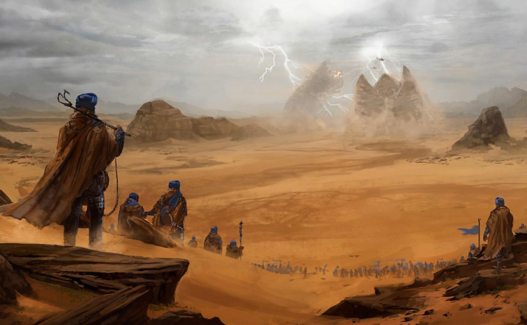 Dune illustration