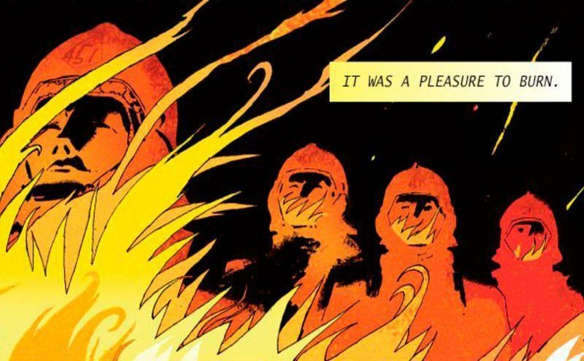 Era un placer quemar