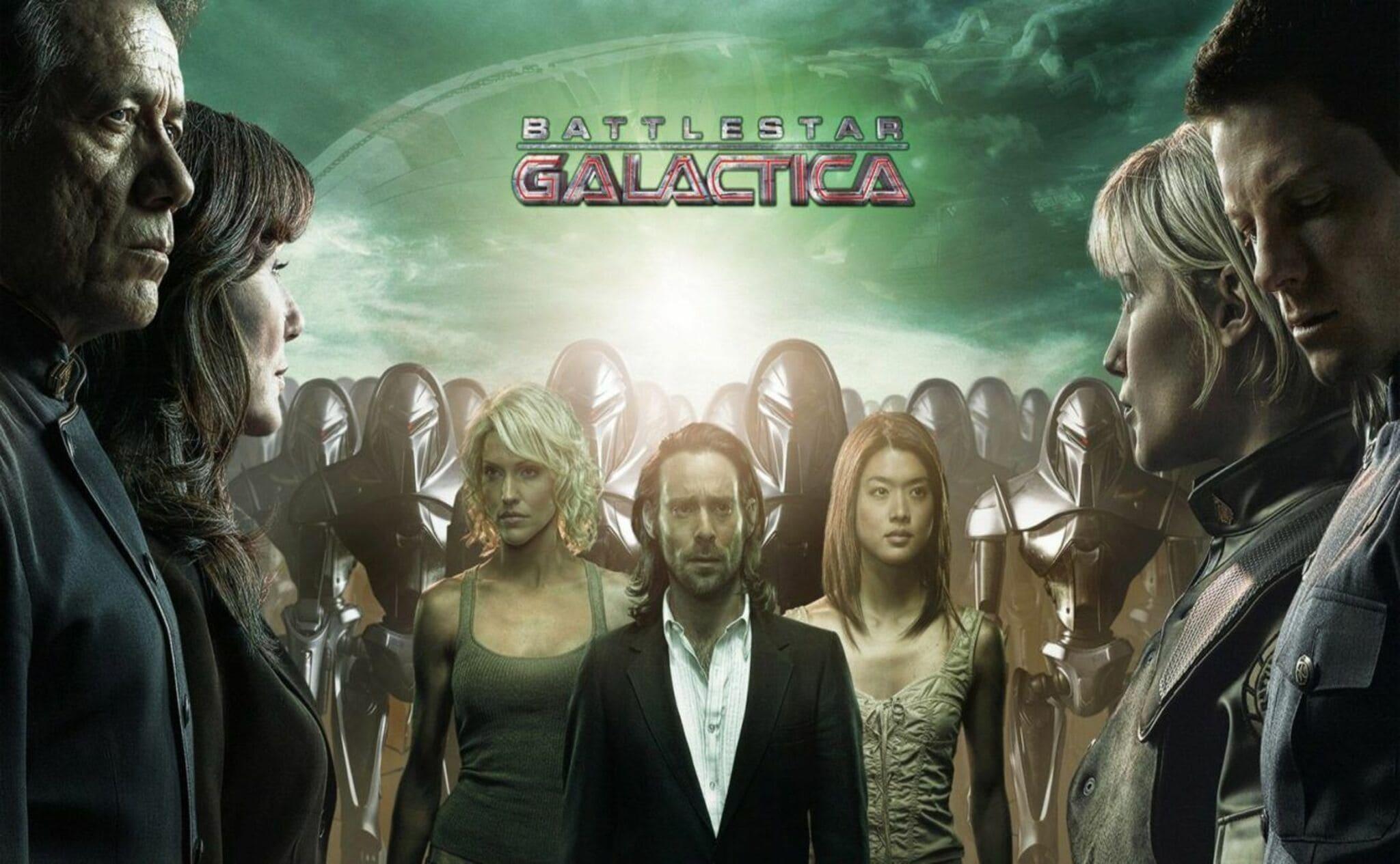 Póster de Battlestar Galactica