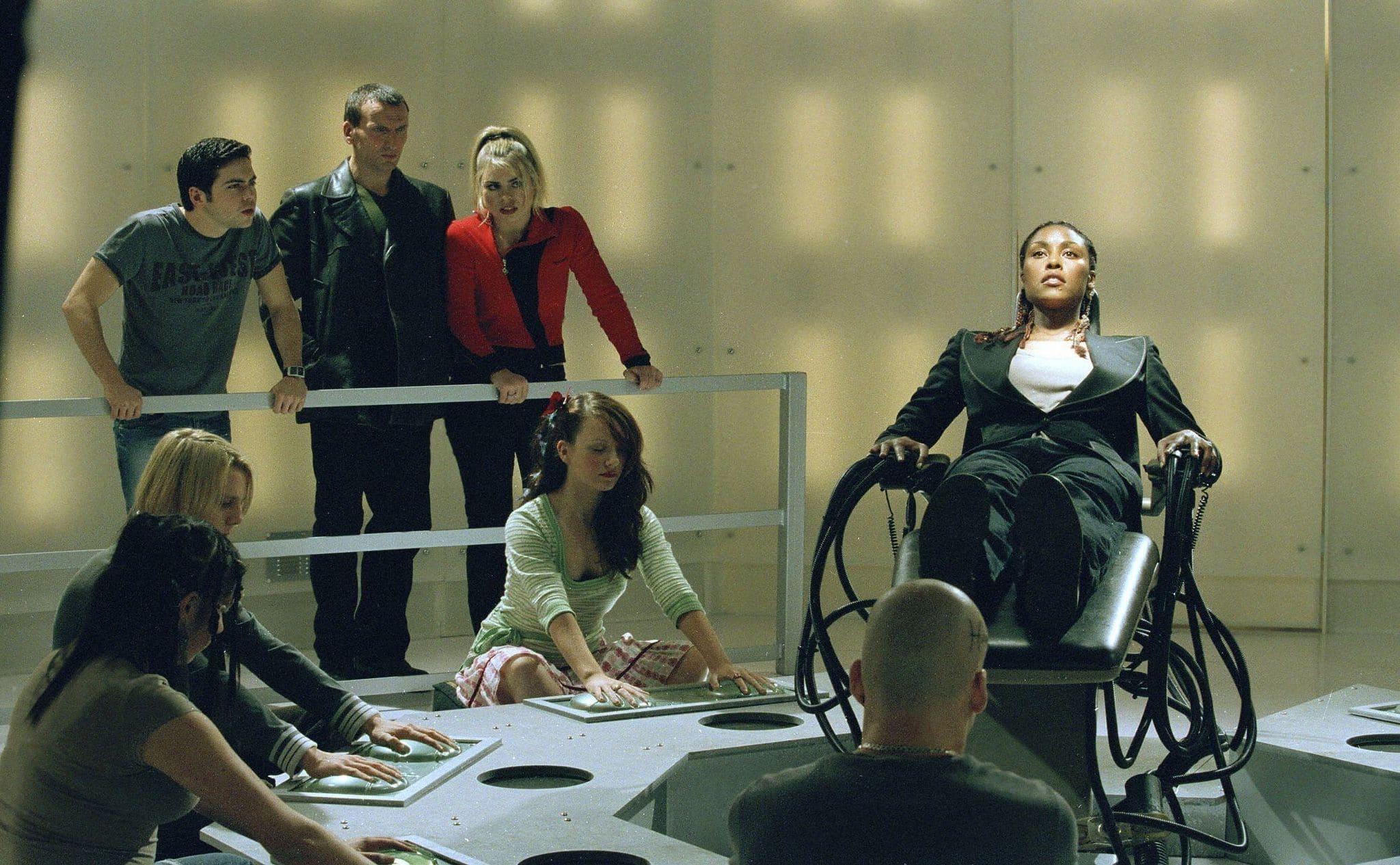 Escena del capítulo Una jugada larga en Doctor Who.