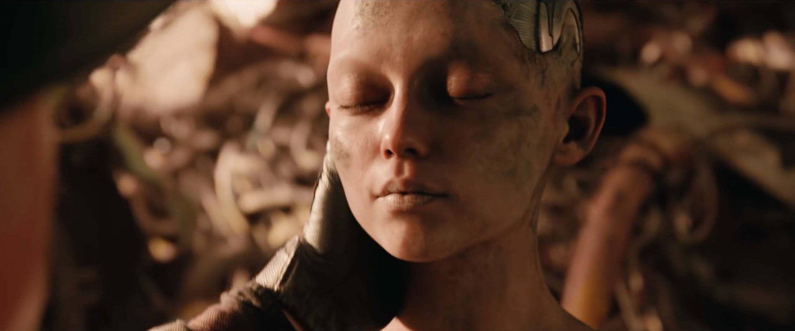 escena de Alita, ángel de combate