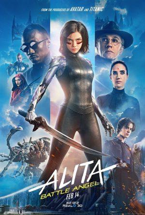 Alita: Ángel de combate, poster