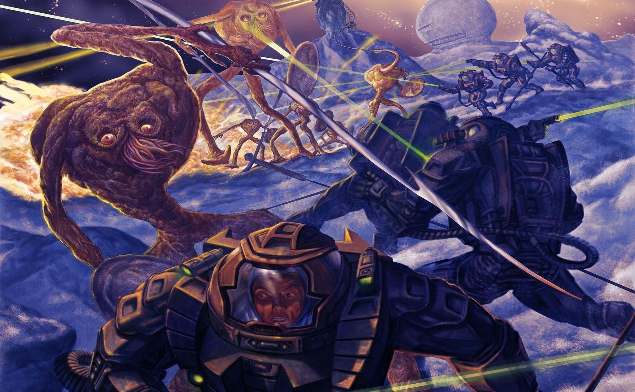 La guerra interminable, ilustración de Carles Demiguel