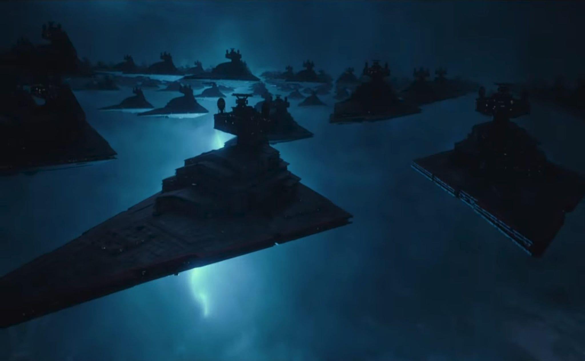 El Ascenso de Skywalker: fotograma.