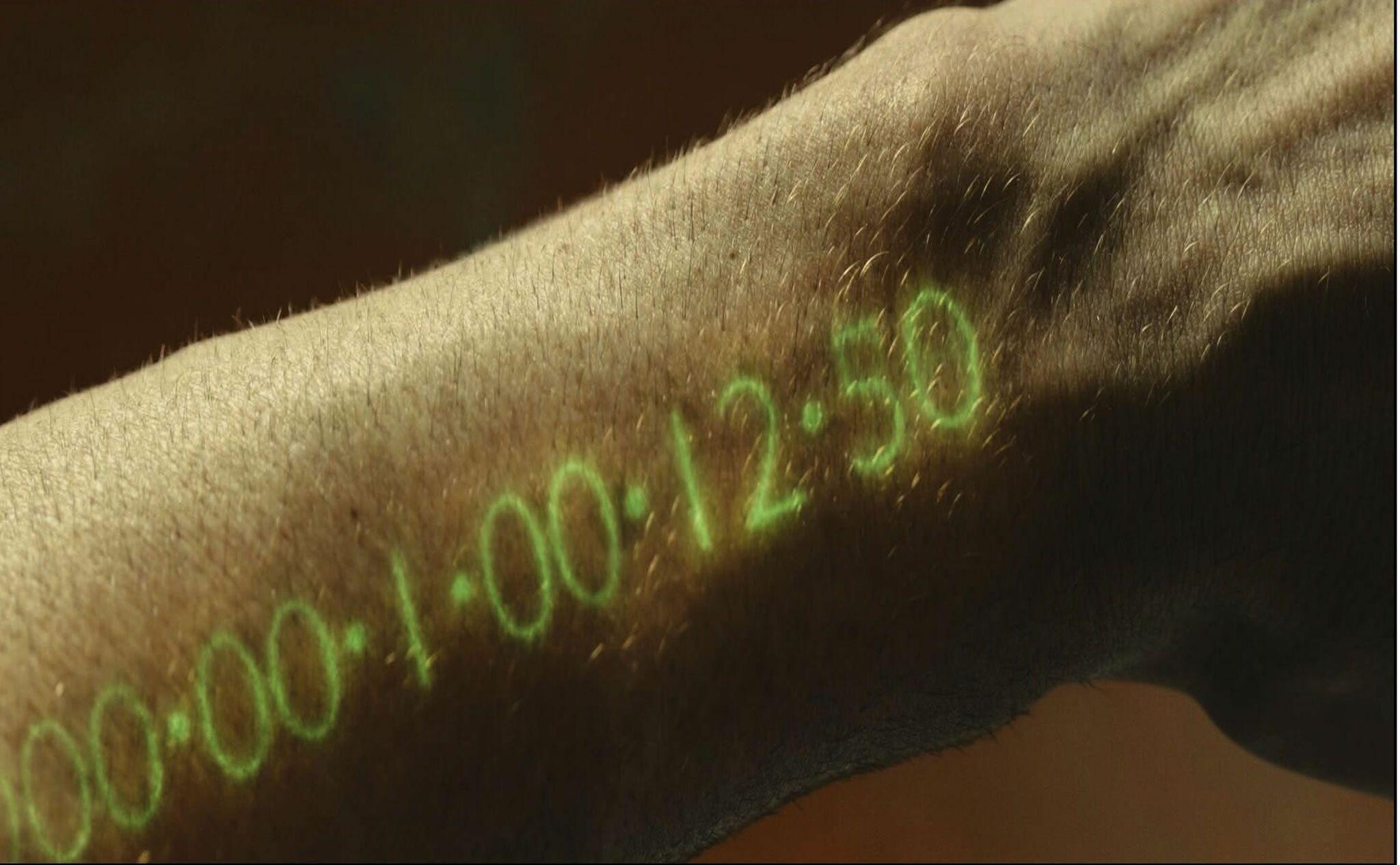 El reloj de la vida en In Tme