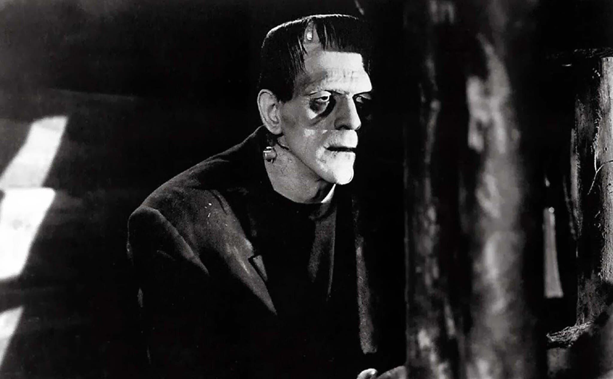 la criatura de Frankenstein
