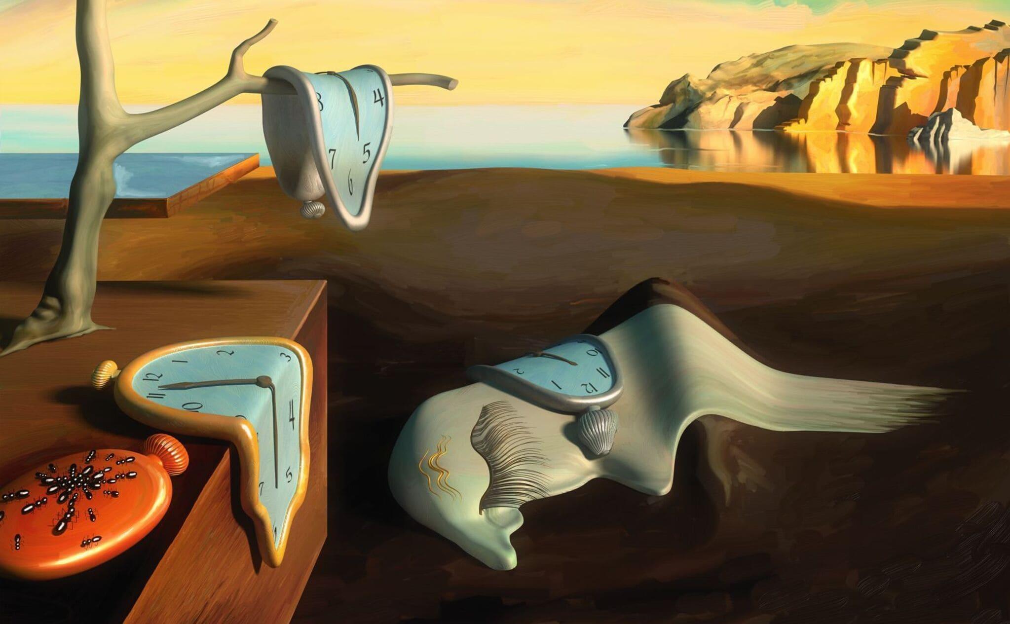 Dalí estaba muy influenciado por los descubrimientos de Einstein cuando pintó sus relojes