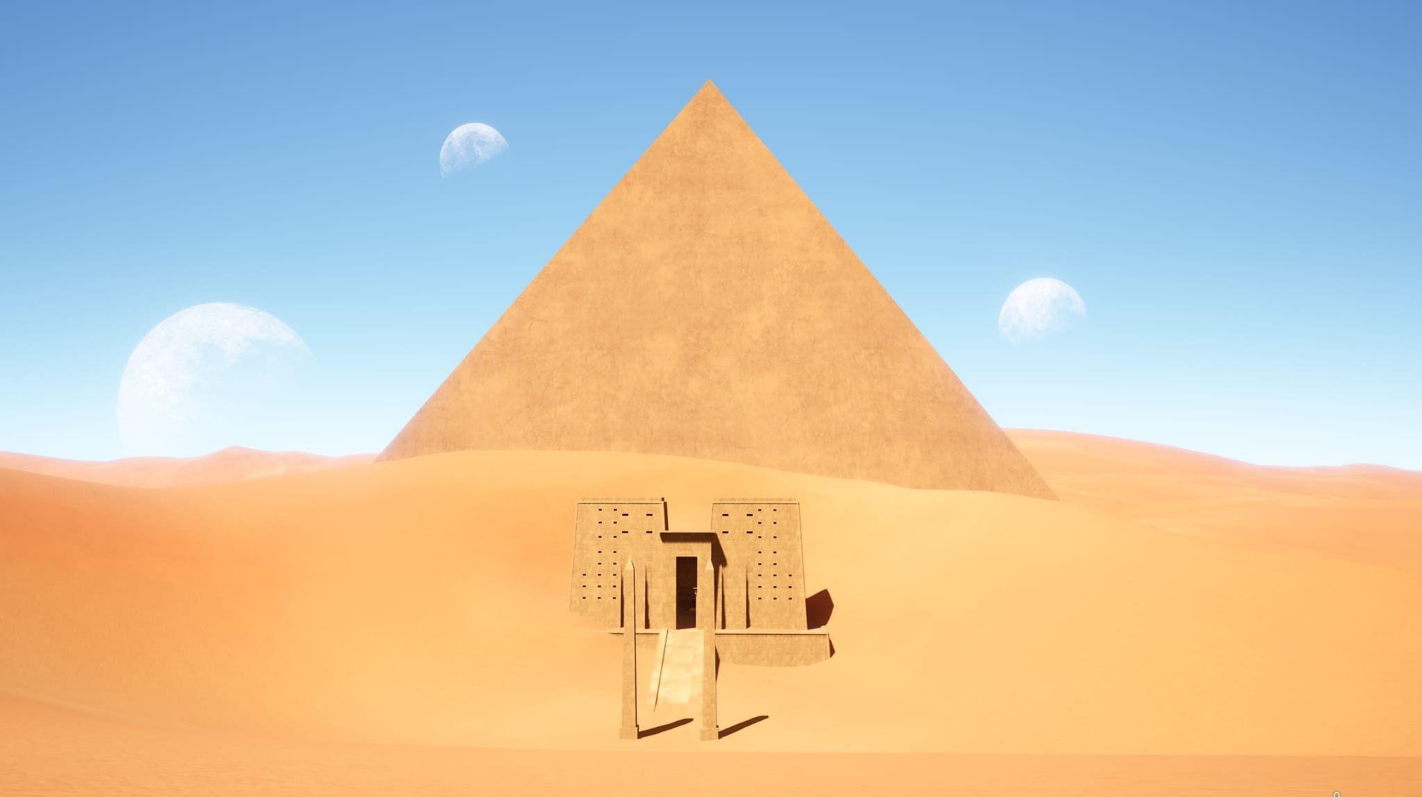 Recreación del planeta Abydos en la película Stargate