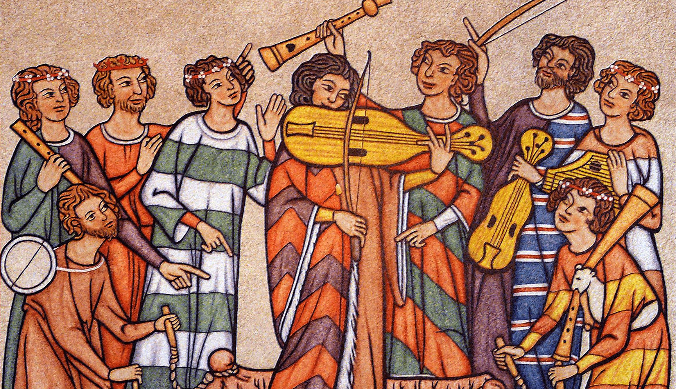 bardos medievales